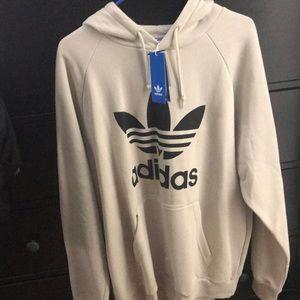 Trefoil adidas hoodie